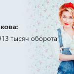 Ольга Патракова: Как сделать 913 тысяч оборота на тортиках